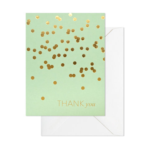 Mint Thank You Boxed Set, Sugar Paper - RSVP Style