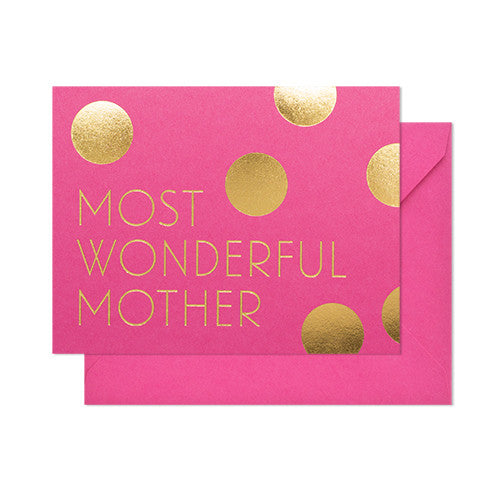 Most Wonderful Mother Card