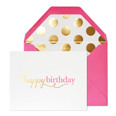 One Happy Birthday Card, Sugar Paper - RSVP Style
