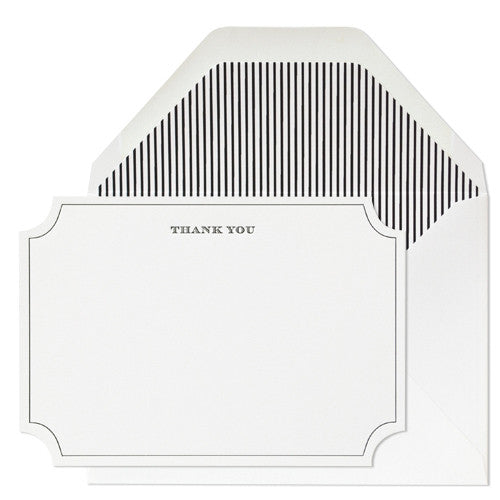 Roosevelt Thank You Boxed Set, Sugar Paper - RSVP Style