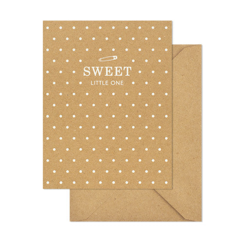 Sweet Little One Card - RSVP Style