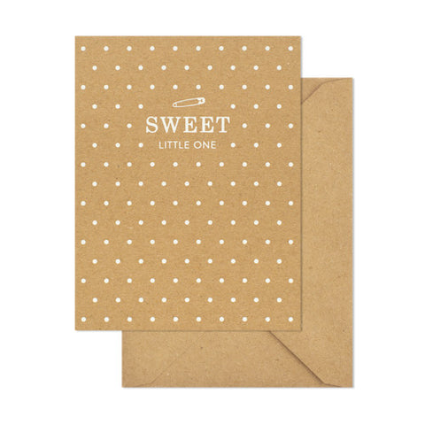 Sweet Little One Card, Sugar Paper - RSVP Style