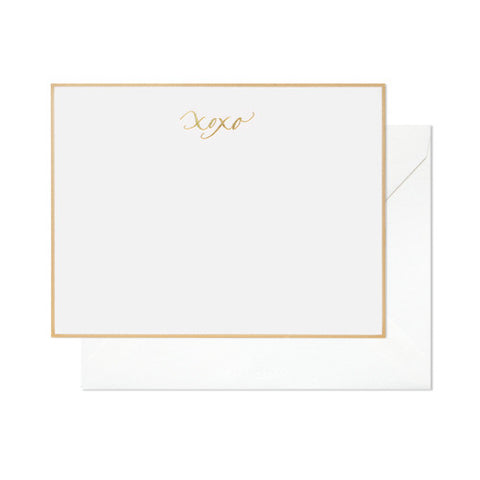 XOXO Note Set, Sugar Paper - RSVP Style