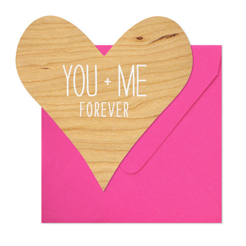 You + Me Card