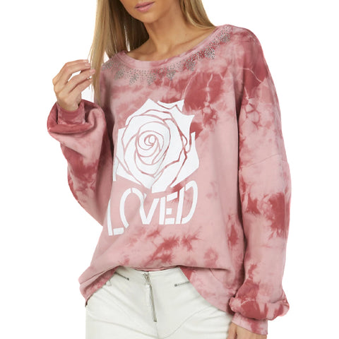 Sierra Loved Rose Pullover
