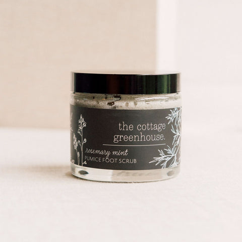 Rosemary Mint Pumice Foot Scrub