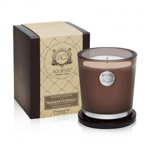 Sandalwood Vanille · Large Candle