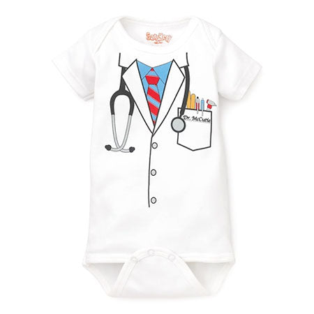 Baby Boy Doctor Onesie