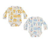 Jaipur Short Sleeve Bodysuit Set of 2