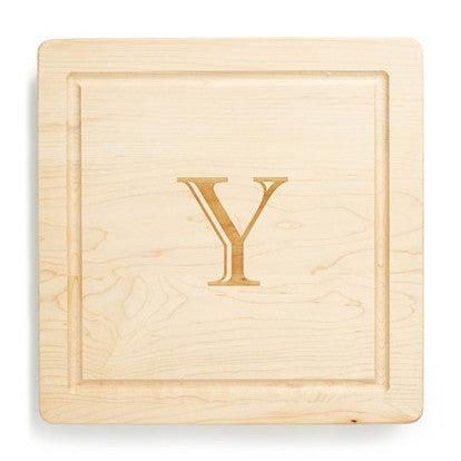 Personalized Square Cutting Board