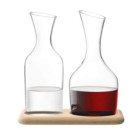 Water + Wine Carafe Set