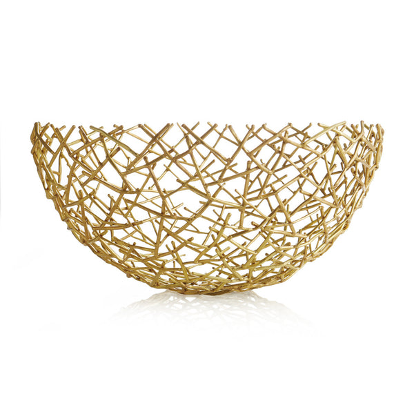 Thatch Bowl Gold | Large