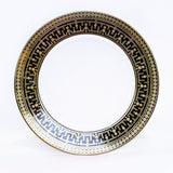 Tiara Black and Gold Dinner Plate 11""