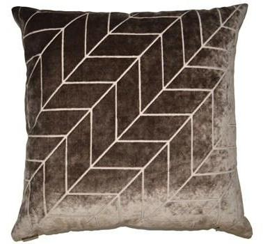 Villa Throw Pillow | Mocha