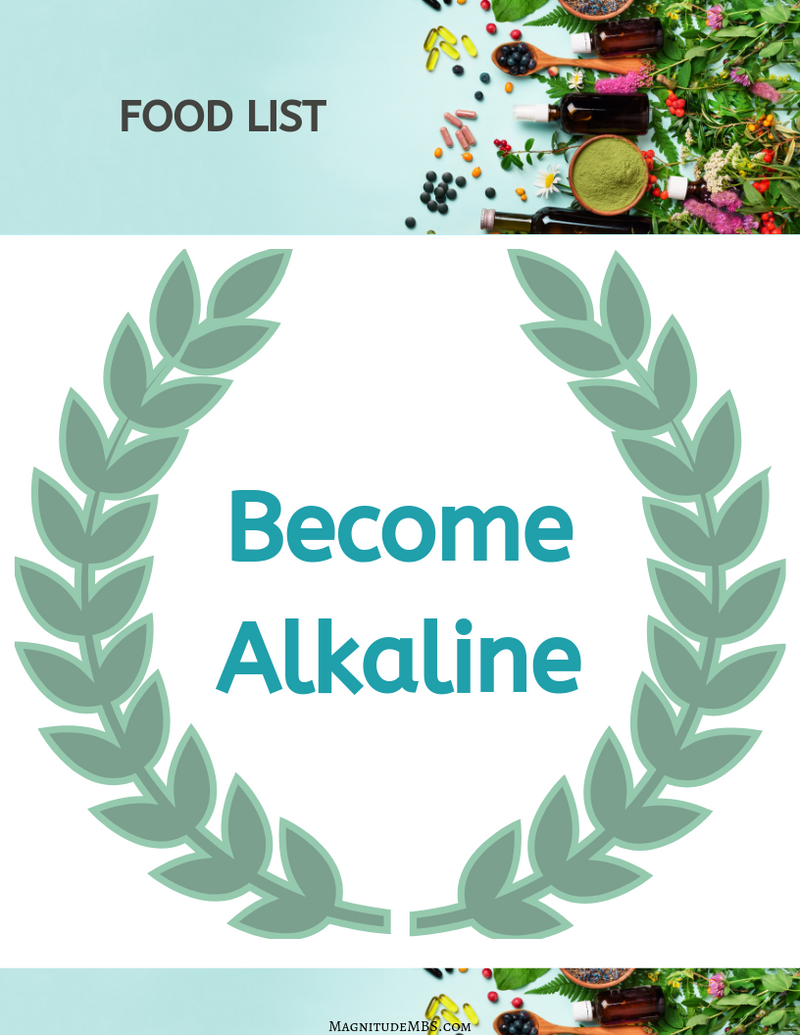 Alkaline Food List