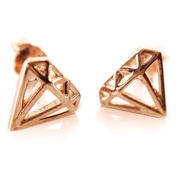 Searching for Rose Gold Earrings FREE SHIPPING with Evulfi