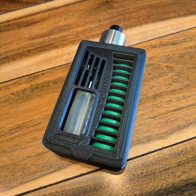Squonker Black Out Design