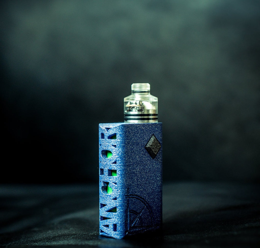 Blue Nano Squonker by Anchor Box Mods
