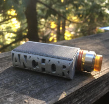 Grey Nano Squonker by Anchor Box Mods