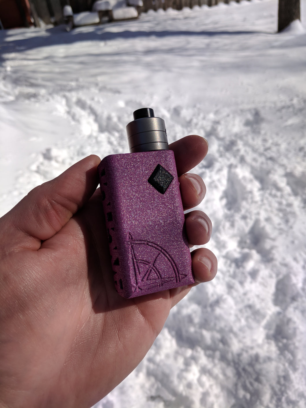 Limited Pink Nano Squonker by Anchor Box Mods