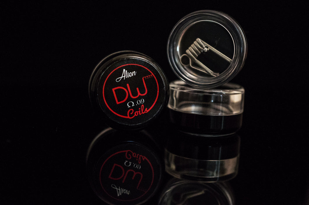 Alien Coils (2 coils) 0.09 OHM for dual coil