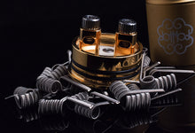 Fused Clapton Coils (2 coils) 0.14 OHM for dual coil