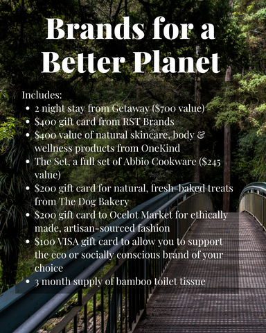 Brands for a Better Planet Giveaway