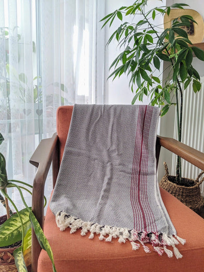 Anatolico Throw Matia Handwoven Blanket Scarf