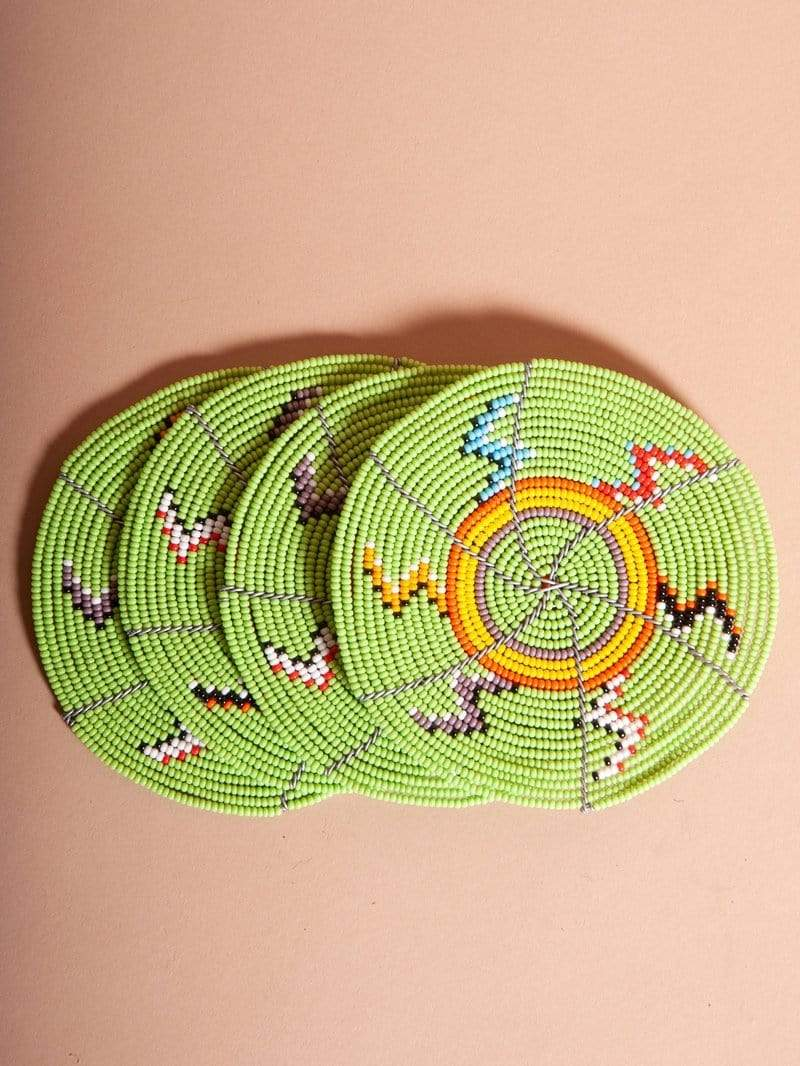 Beadworks Kenya Coasters Beadworks Coasters (Set of 4)