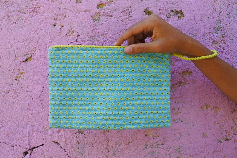 Cojolya Clutch Simple Clutch in Citron