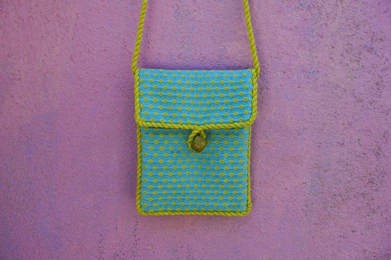 Cojolya Pocket on a String Pocket on a String in Robin's Egg Citron