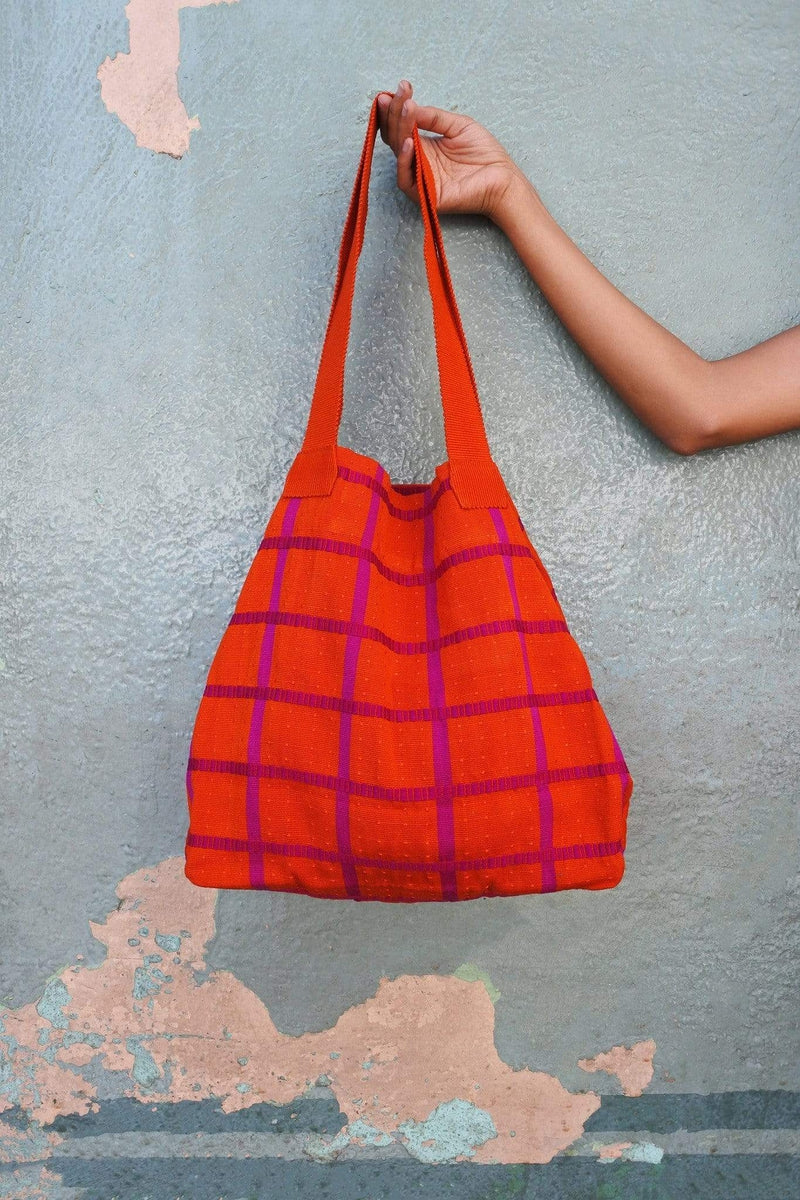 Cojolya Tote Shopping Bag in Dragonfruit