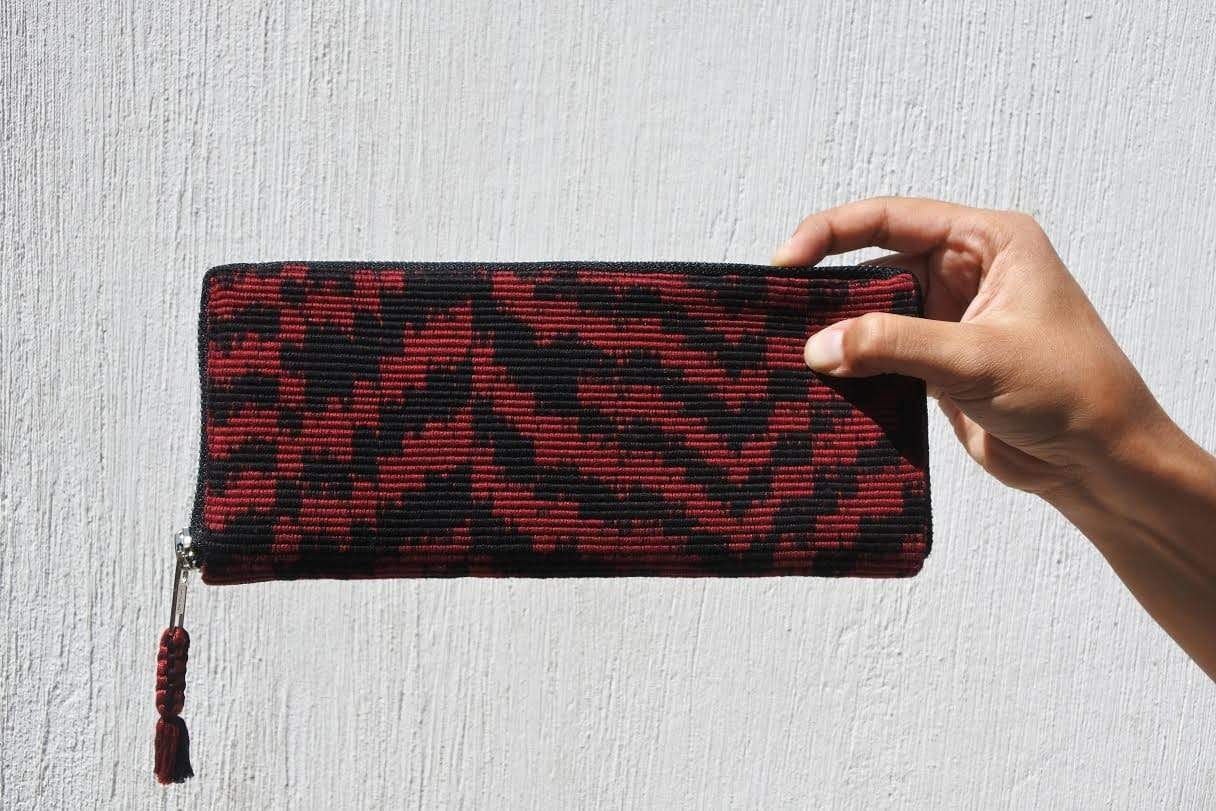 Cojolya Wallet Red Atitlán Wallet