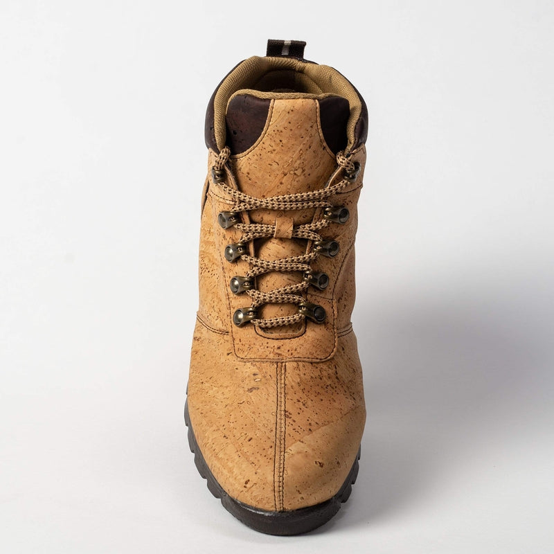 CorkStyle Boots Men's Natural  and Brown Cork Boot - Leather Interior