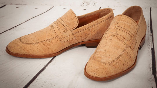 CorkStyle Loafer Men's Natural Cork Loafer - Biodegradable Interior