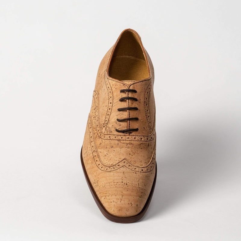 CorkStyle Oxford Women's Natural Cork Oxford, Biodegradable Interior