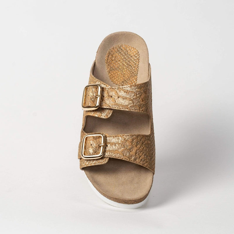 CorkStyle Sandals Women's Cork Sandal - Natural Piton Cork