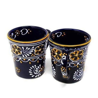 Encantada Cup Pair of Flared Cup - Blue