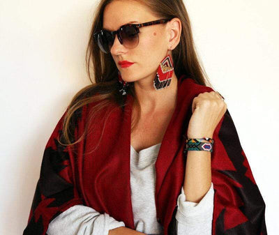 FOSTERIE Earrings Embera Earrings Fire
