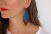 FOSTERIE Earrings Embera Earrings Peacock