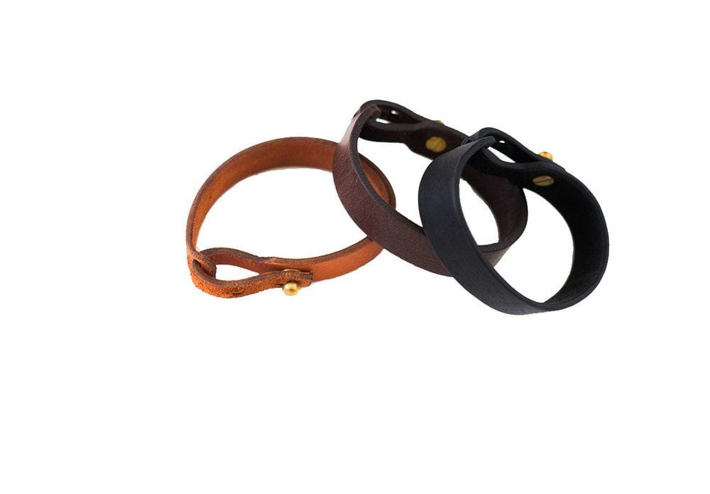 Haiti Design Co. Bracelet Single Wrap Leather Bracelet