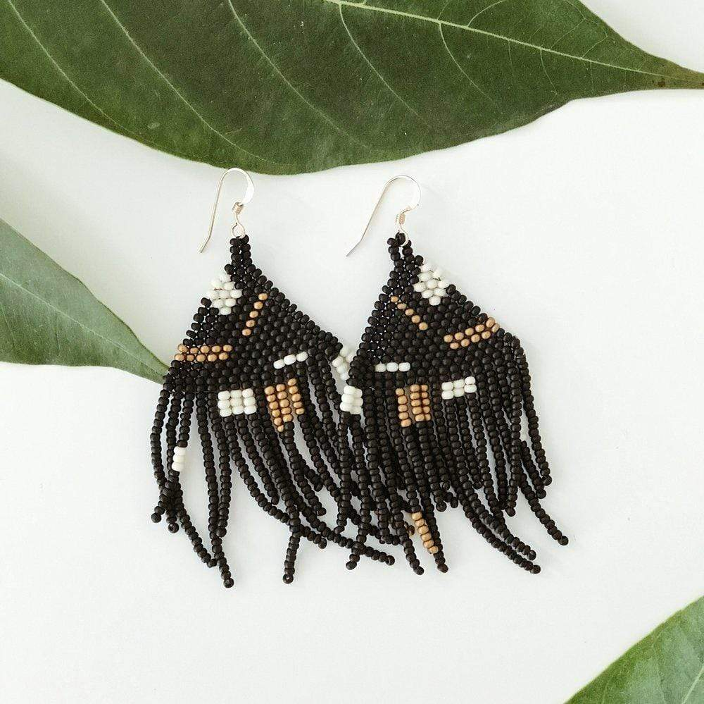 Haiti Design Co. Earrings Artist Fringe Earrings