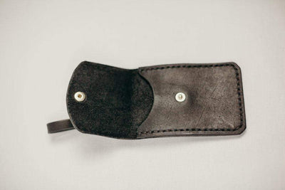 Haiti Design Co. Tag Leather Pocket Luggage Tag