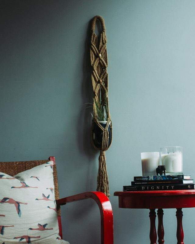 Love for Nica Somoto Macrame Plant Holder in Khaki