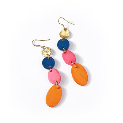 Matr Boomie Earrings Ria Earrings - Multi Drop