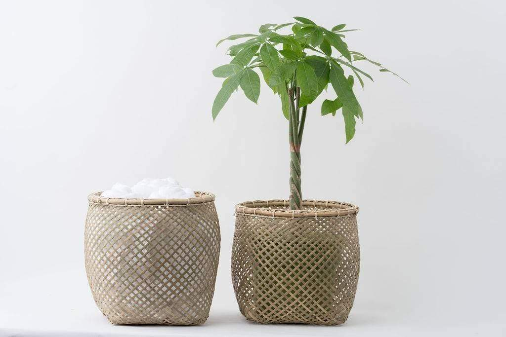 NEEPA HUT Basket Bamboo Basket