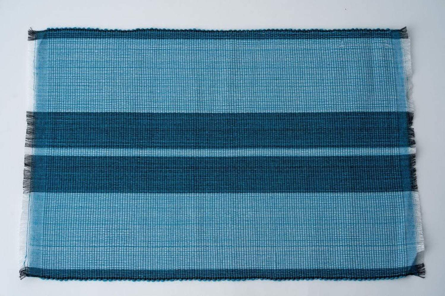 NEEPA HUT Inabel Placemat | Ocean Blue