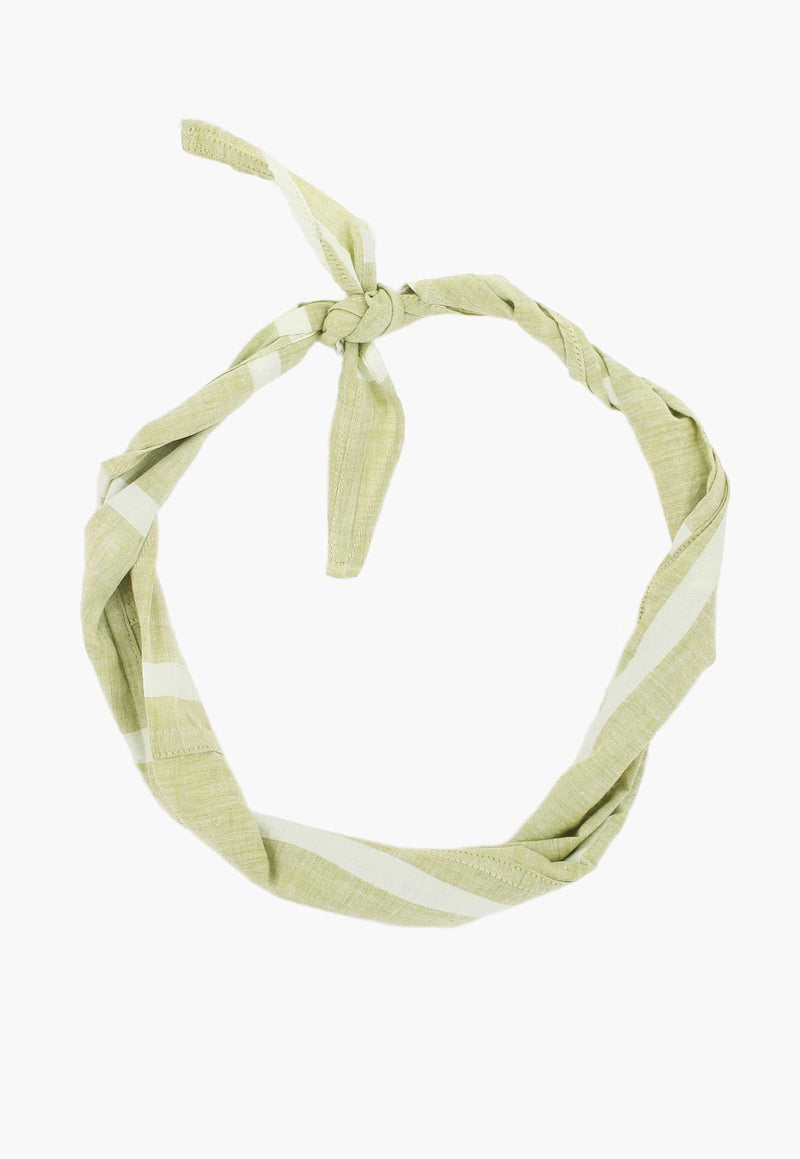 New Market Goods Accessories Lungi Green Scrap Bandana
