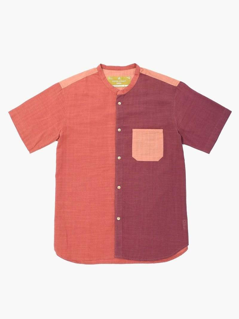 New Market Goods Shirt Earthtone Button-down Shirt