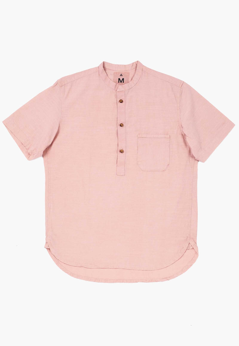 New Market Goods Shirt Madder Pink Popover Shirt